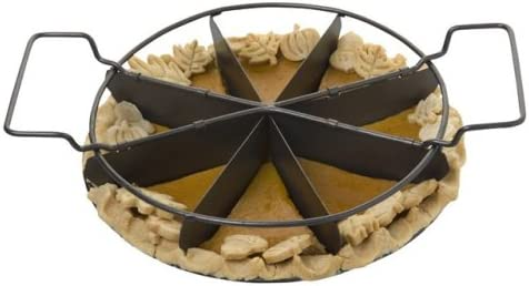 Slice Solutions 9-Inch Sectioned Set Pie Outlet SALE Milwaukee Mall Pan