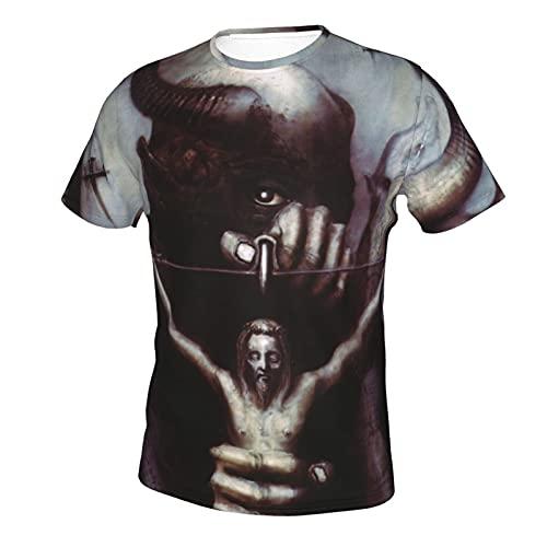 Celtic Frost T-Shirt Mens Short Sleeve T-Shirt Stylish Crew Neck T Shirt Black