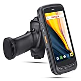 Android 8.1 1D Barcode Scanner Handheld Pistol Grip MUNBYN with Zebra Laser Barcode Reader, 5.2   IPS FHD Touch Screen, IP65 Rugged Data Terminal, 4G WiFi BT GPS Mobile Computer for Warehouse Shipping