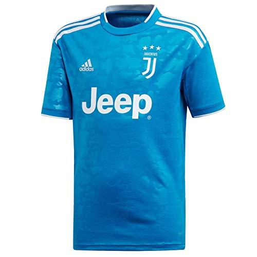 adidas Juve 3 JSY Y Unisex-T-Shirt für Kinder XXXL Azuuni/Aeroaz