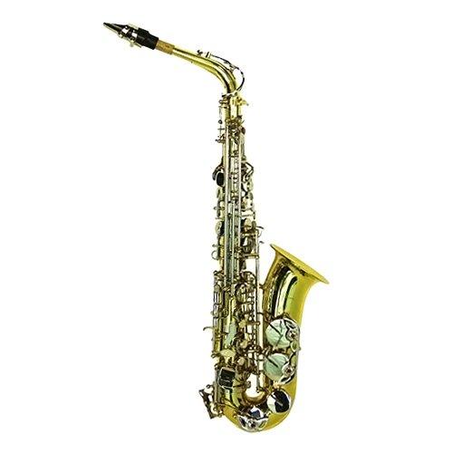 Dimavery SP-30 para saxofón Alto Eb - dorado