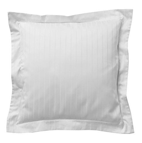 Blanc des Vosges DIVINE Taie carrée Coton Blanc 65 x 65 cm