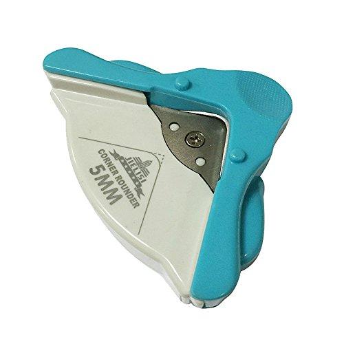 Radius 5 mm Eckenrunder,Corner Cutter/Radiusschneider für Karten Scrapbooking Handwerk DIY Werkzeug (Blau)