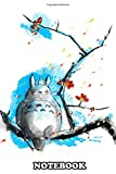 Notebook: E Totoro Sumi , Journal for Writing, College Ruled Size 6' x 9', 110 Pages