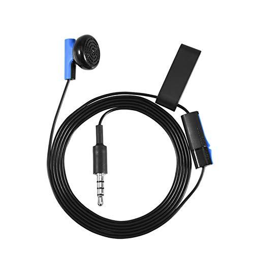Gaming-Headset, 3,5-mm-Blue-Gaming-Kopfhörer-In-Ear-Design Micro-Sound-Technologie-Kopfhörer-Headset mit Mikrofon für Sony Playstation 4-Controller, ABS-Ohrpolster für Unterhaltung und Freizeit