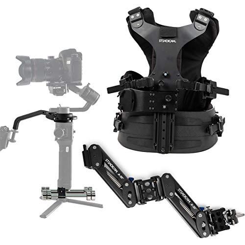 SteadiCam Steadimate-S Aero 30 Arm & Zephyr Vest Kit with Mechanical Gimbal Collar/Yoke & Weighted Base