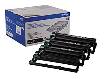 Brother Genuine Drum Unit DR221CL Seamless Integration Yields Upto 15,000 Pages Color