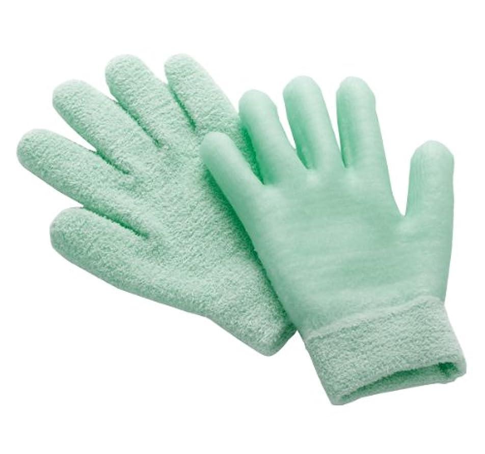 圧縮反射脱走眠れる森のぷるジェル手袋 グリーン