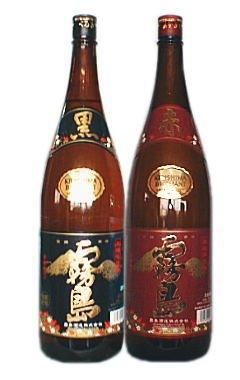 【お中元】赤霧島1.8L&黒霧島1.8L 2本飲みくらべセット