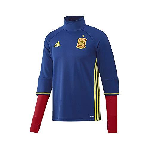 adidas Selección de España 2016 - Camiseta, Color Azul/Amarillo/Rojo, Talla XS