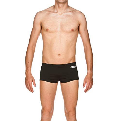 Arena Solid Squared Bermuda Nuoto, Uomo, Nero (Black/White), 90