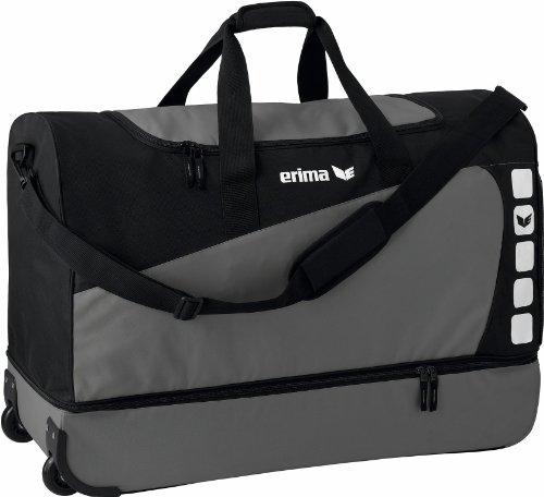 erima Rollentasche mit Bodenfach, Granit/Schwarz, XL, 114.5 Liter, 723362