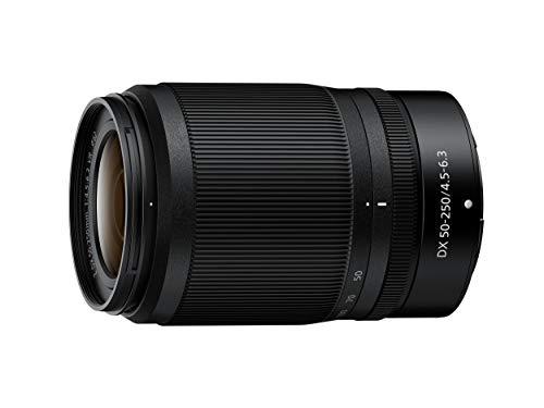 Nikon NIKKOR Z DX 50-250mm f 4.5-6.3 VR, Teleobiettivo zoom mirrorless compatto, AF Silenzioso, meccanismo di ritrazione, nero [Nital Card: 4 Anni di Garanzia]