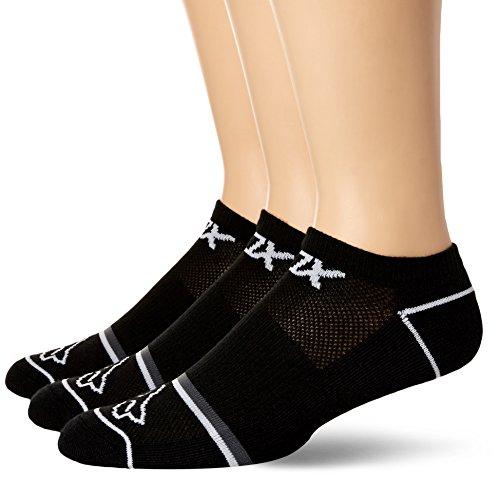 FOX Damen Tech Midi 3 Pack Socks, Black, S/M