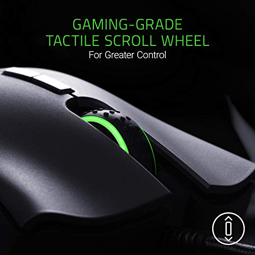 Razer DeathAdder Elite Gaming Mouse: 16,000 DPI Optical Sensor -...