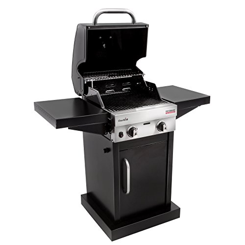 Char-Broil Performance Series™  220B - 2 Burner Gas Barbecue Grill with  TRU-Infrared™ technology, Black Finish.