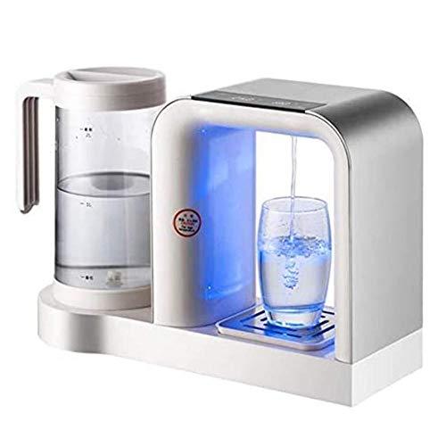 Unknow Dispensador de Agua Caliente instantáneo de Escritorio, hervidor de Agua Calentador de Agua eléctrico 2 litros de Capacidad dispensador de Agua fría para el hogar/la Oficina-Plata