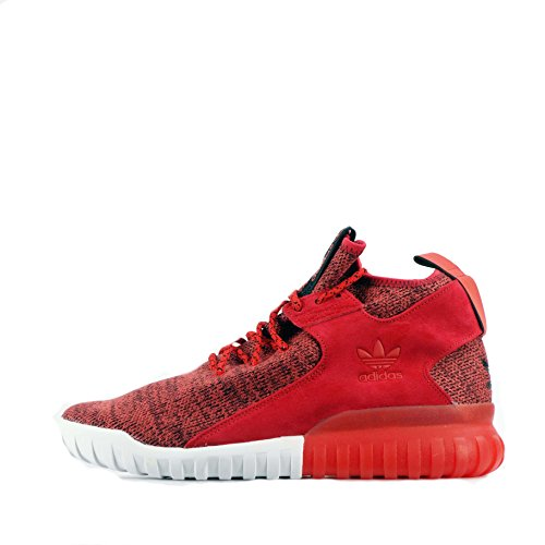 Adidas Tubular X Rosso Nero, Rosso (Rosso Rosso Rosso Bb1488), 45 1/3 EU