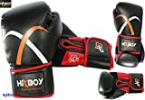 HITBOY Attitude Erwachsene Boxen Handschuhe MMA Coaching Sports AUSRÜSTUNG Kampf