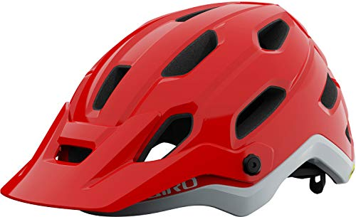 Giro Source MIPS All Mountain MTB Bicycle Helmet Red 2021: Size: S (51-55cm)