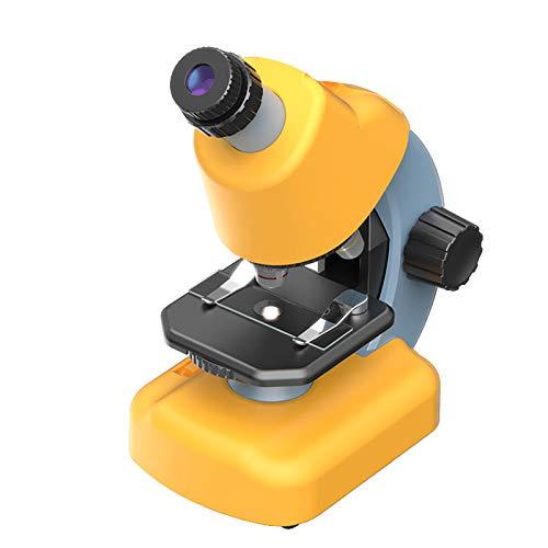 Mikroskop Optisches Kindermikroskop Tragbares Kinder-Wissenschaftsset Professionelle Biologie Faches Hochauflösendes Wissenschaftliches Experimentgeschenk