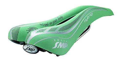 Selle SMP Hybrid, Sella Unisex-Adulto, Green, M