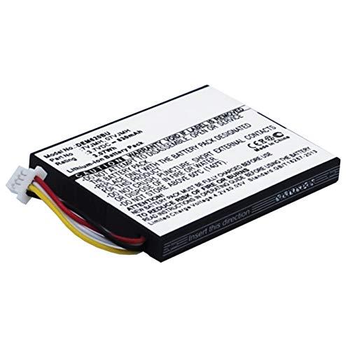 subtel® Batería Premium Compatible con DELL PowerEdge R720, PowerEdge T110 II, PowerEdge R620, PowerEdge R320, 70K80, T40JJ 830mAh bateria Repuesto Pila