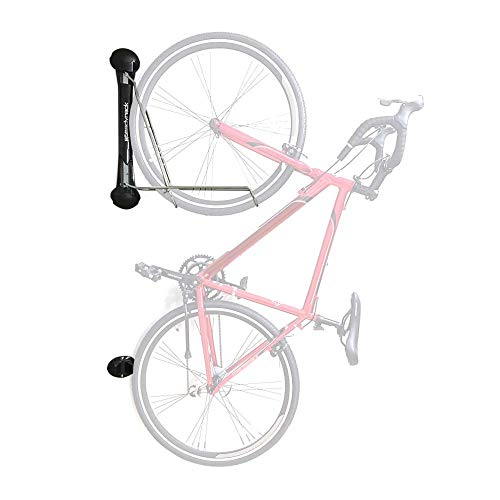 Steadyrack Bike Rack - Wall Mounted Bike Storage Solution for your Home, Garage or Commercial Application. Easy Install. Swings 180 degrees for More Floor Space - Classic Road Bike Rack