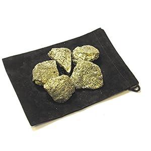 "Natural Rough Pyrite Fools Gold 2"" Pieces (1/2 Pound)"