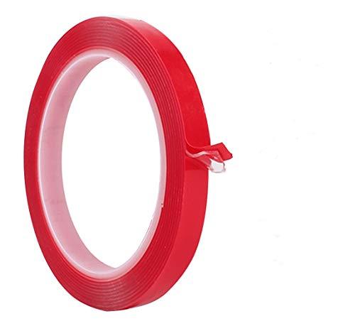 テープ テープ 超強力超強力両面テープ 透明はがせる 防水用 耐候性 耐熱性 DIY 屋外 車用テープ 透明両面テープ 1.0mm x 20mm x 10m