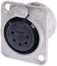 Neutrik NC5FDL 5 Pin Female XLR Connector (Chassis