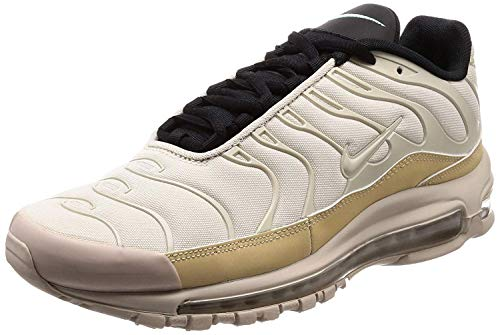 Nike Air MAX 97 / Plus, Zapatillas de Gimnasia Hombre, Marrón (Lt Orewood Brn/Rattan/String/Black 101), 40.5 EU