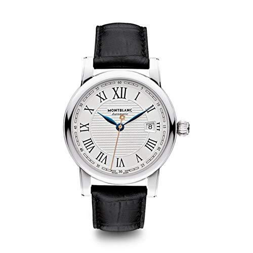 Montblanc Reloj de Hombre automático analógico Correa de Cuero Caja de 113644