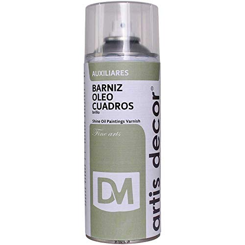 ARTIS DECOR Lack Spray Öl Quadrate glänzend 400ml