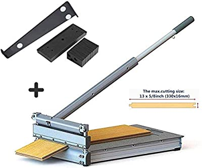 13 inch Pro Flooring Cutter,For Laminate, Engineered Wood,Parquet,Deck-Floor-Boards, fiber-cement siding, VCT, LVT, RVP, SPC, LVP, WPC, Vinyl Tile Flooring and more.MC-330