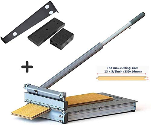 MantisTol 13'' Laminate Flooring & Siding Cutter MC-330 with Installation Kit Gifts, For engineered wood and more. It's the best of all its kind!