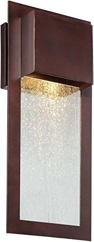 Minka Lavery Modern Outdoor Wall Light 72382-246 Westgate Dark Sky Exterior Wall Lantern, 35w Halogen, Bronze