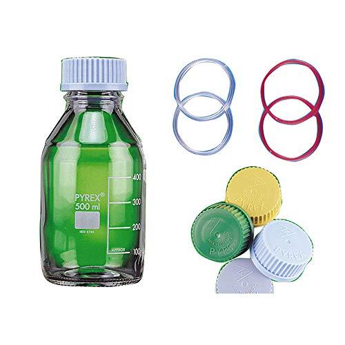 Scilabware 1516/02D Pyrex - Bote de cristal (50 ml, 10 unidades)