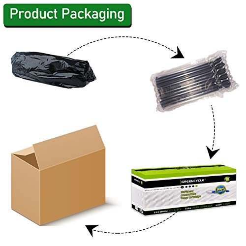 GREENCYCLE Compatible Toner Cartridge Replacement for Canon 126 CRG-126 CRG126 3483B001 for use in ImageClass LBP6200d and LBP6230dw LBP-6230dn LBP-6230 Wireless Laser Printers (Black,2 PK) Photo #2
