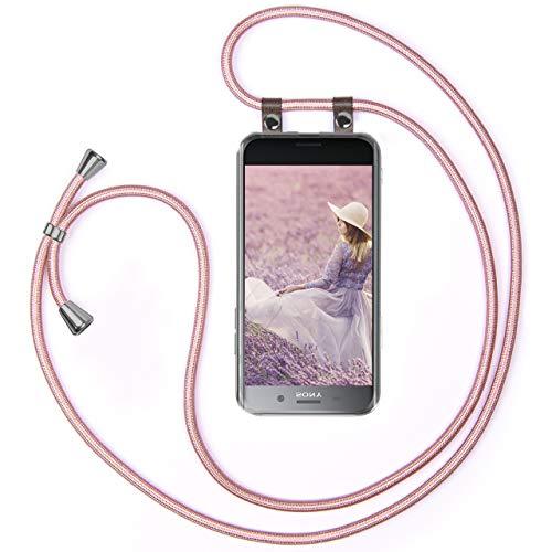 moex - Cadena para teléfono móvil compatible con Sony Xperia XZ Premium,...
