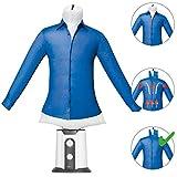 Clatronic HBB 3707 Schneiderpuppe, zum Bügeln, automatische Trocknung, Bügeln von Hemden und Trockner, 180 Minuten, 2 Temperaturstufen, 850 W