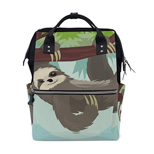 Blue Whale Sea Lion School Backpack Large Capacity Mummy Bags Laptop Handbag Casual Travel Rucksack Satchel for Women Men Adult Teen Children