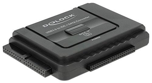 Delock 61486 Konverter USB 3.0 zu SATA 6 Gb/s / IDE 40 Pin / IDE 44 Pin mit Backup Funktion