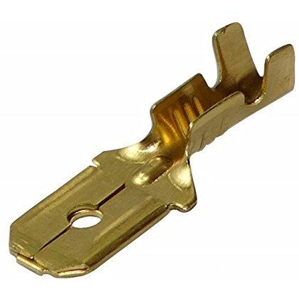 100x Cosses /électriques femelle plate 2.8mm 0.5mm 1.5-2.5mm2 Aerzetix