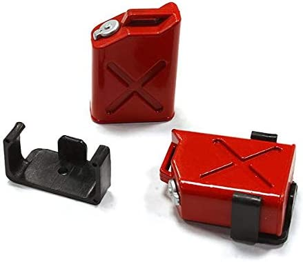 Sale special price Integy RC Model C25183RED Realistic Jerry Gas Tank 5% OFF 2 Can Fuel