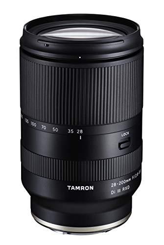 Tamron T83004 - Objetivo para Sony E-Mount (28-200 mm, F/2.8-5.6 Di III RXD)