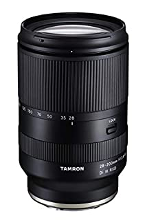 TAMRON Zoom - 28-200 mm F/2.8-5.6 Di III RXD - Monture Sony FE (B089WG4H9T) | Amazon price tracker / tracking, Amazon price history charts, Amazon price watches, Amazon price drop alerts