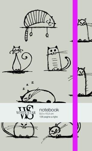 Notebook. Cat sketch