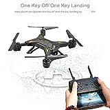 Qinlorgo Drone RC, Drone sans tête Pliable RC WiFi KY601S avec caméra HD(#4)