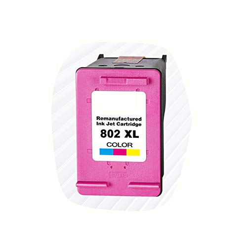 Inktcartridges, kunnen inktpatronen voor printers toevoegen, geschikt voor HP HP802 inktcartridges HP Deskjet1050 1000 1510 1010 1011 2050 1101 1102 inktcartridges, zwart 600 pagina's, kleur, size, Kleur: